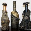 Папье-маше своими руками для начинающих бутылка