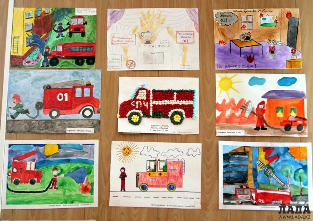 Картинки по пожарной безопасности для детей