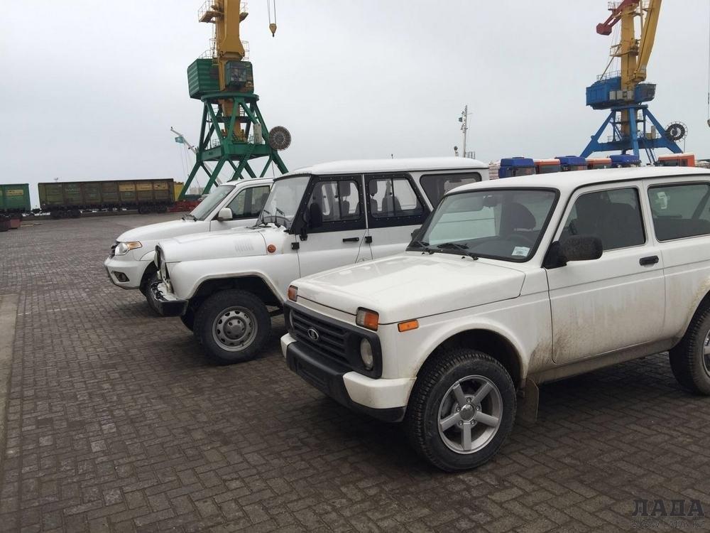 Из Актау в Объединенные Арабские Эмираты начали поставлять автомобили «Нива» bf204fa8f14