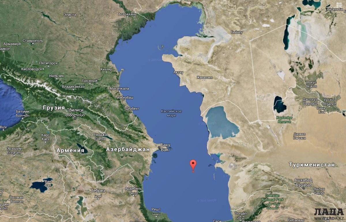 ВКиргизии, в432км отАлматы, случилось землетрясение магнитудой 4.5
