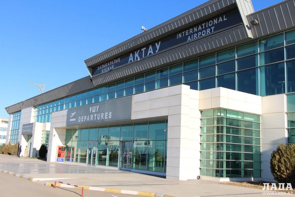 Аэропорт Актау перестал принимать рейсы из-за срочного ремонта взлетно-посадочной полосы
