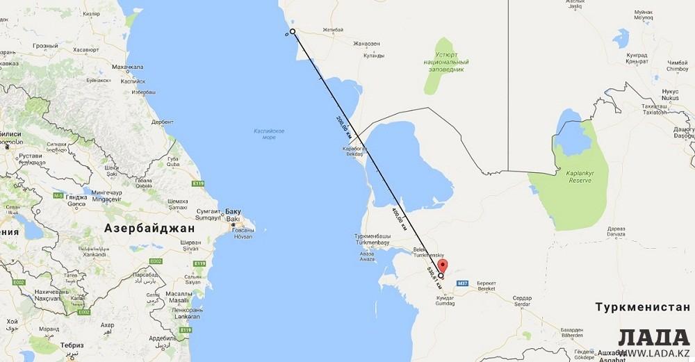 Туркмения перенесла землетрясение магнитудой 5,8 баллов