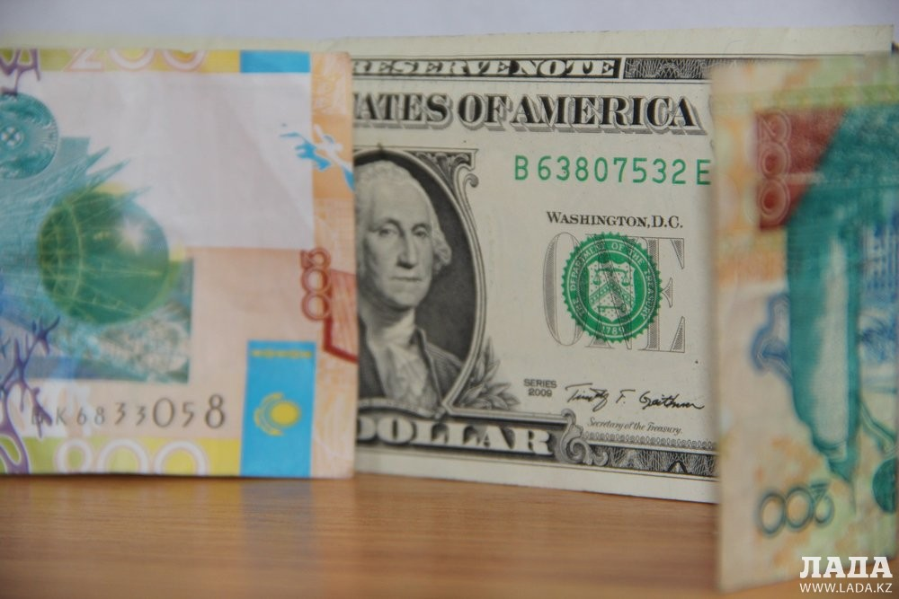 Тенге продолжает укрепляться кдоллару