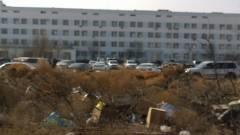 Мусор в больничном городке