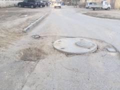 Дорога 27 мкр без ремонта 10 лет