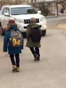 Опасная дорога в школу