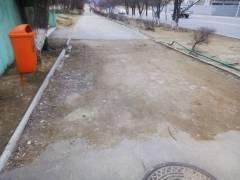 Пешеходная дорожка 14 мкр