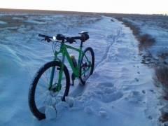 Снежный вело-Актау 2018
