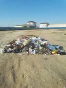 Мунайлинский район. Автодром. Не убирают мусор