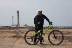 Мыс песчаный на велосипедах!!