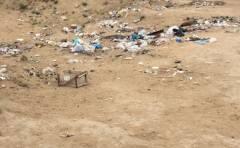 Автодром в мусоре....