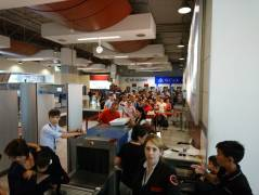 Очереди в аэропорту Актау