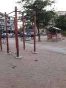 Детская площадка времен СССР