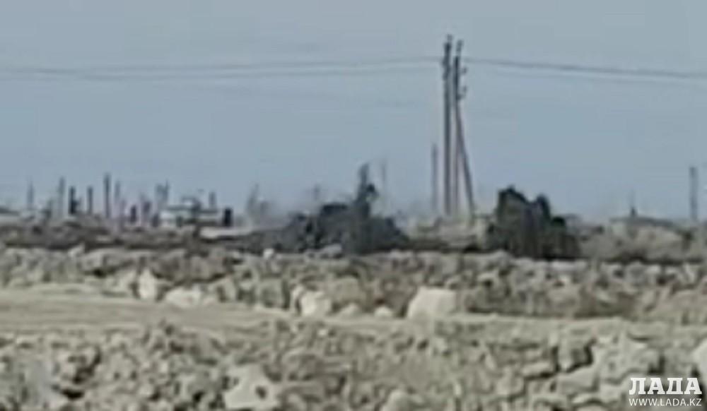Мангистауская область: На месторождении Каламкас выявлен грифон - ДЧС
