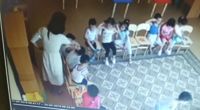 Видео с избиением детей детского сада в Актау попала  в сеть