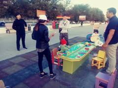 Платные игры на детской площадке