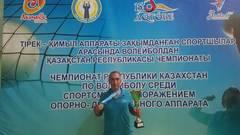 Мангистауские паралимпийцы стали чемпионами РК по волейболу