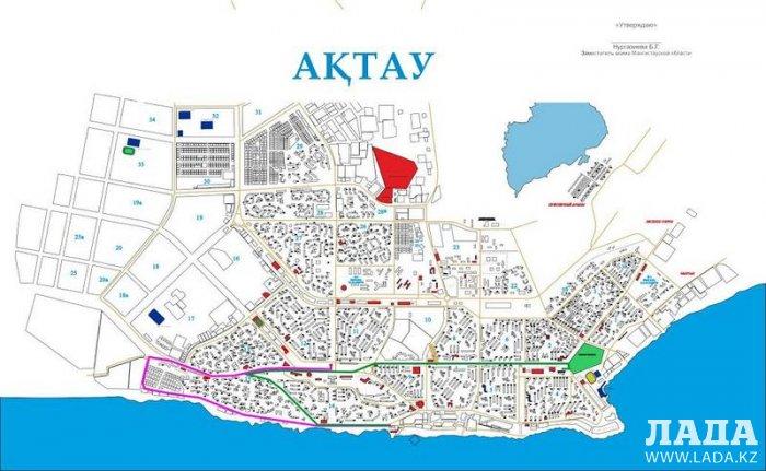 В Актау в Эстафете Огня Всемирной зимней Универсиады примут участие 59 факелоносцев