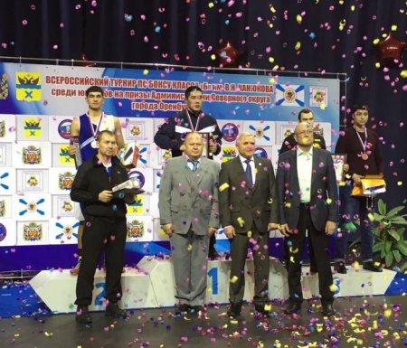 Спортсмены из Мангистау завоевали шесть медалей на Всероссийском турнире по боксу в Оренбурге