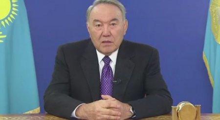 Назарбаев выступил с обращением к казахстанцам