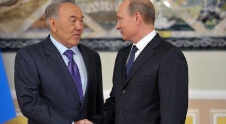 Путин поблагодарил Назарбаева за межсирийские переговоры в Астане
