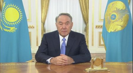 Видео официального заявления Назарбаева
