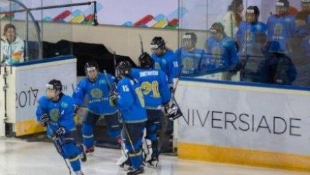 Казахстанские хоккеистки уступили Китаю на Универсиаде-2017