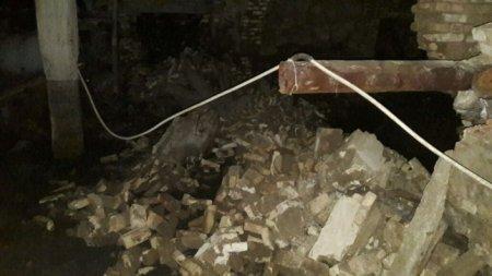 В Карагандинской области частично обрушился еще один дом