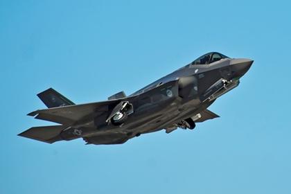 США впервые разместят в Европе истребители F-35