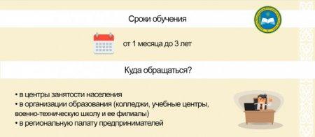 Как бесплатно обучиться рабочей профессии в Казахстане