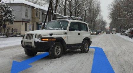 Могут ли оштрафовать за нарушение разметки, если ее не видно под снегом