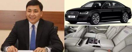Аким ЗКО признался, откуда у него новый автомобиль за 56 млн тенге