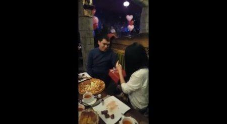 Реакцию алматинца на то, что он станет отцом двойни, засняли на видео
