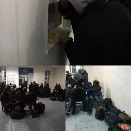 Вахтовики пожаловались на отсутствие условий на станции Доссор