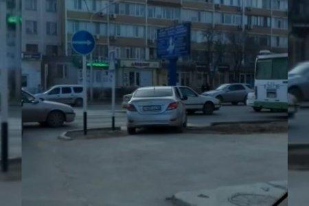 Автомобиль-пешеход ВИДЕО
