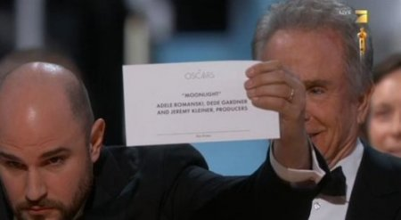 """Церемония вручения премии """"Оскар"""" закончилась скандалом"""