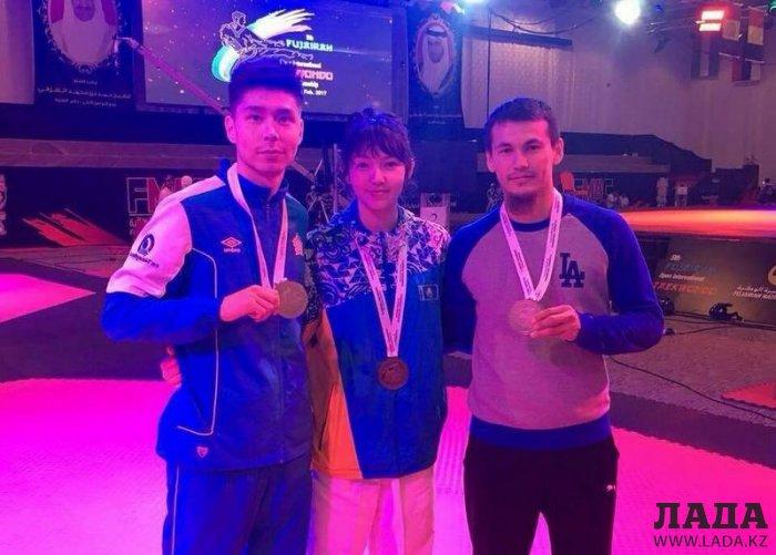 Кайрат Сарымсаков из Актау стал бронзовым призером международного турнира «FUJAIRAH OPEN 2017»