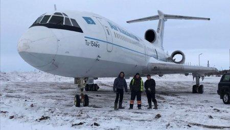 Превратить списанный Ту-154 в достопримечательность намерен бизнесмен в Караганде