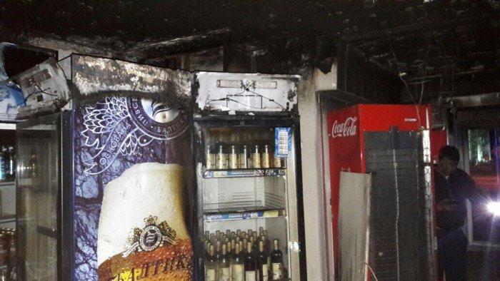 В продуктовом магазине в 13 микрорайоне Актау произошло возгорание