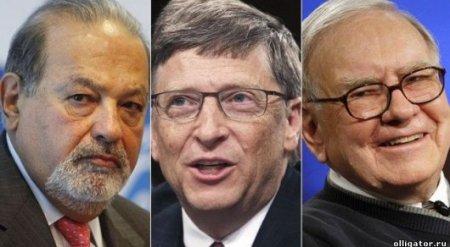 Блумберг обновил рейтинг 500 самых богатых людей мира