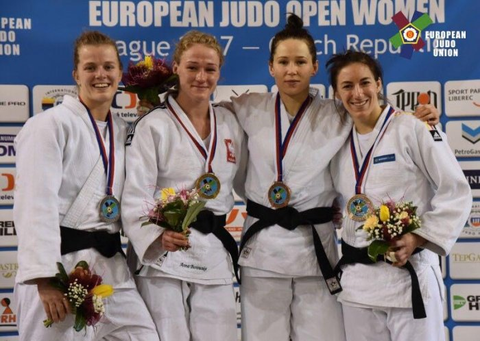 Анна Казюлина из Актау выиграла бронзовую медаль на кубке Европы по дзюдо