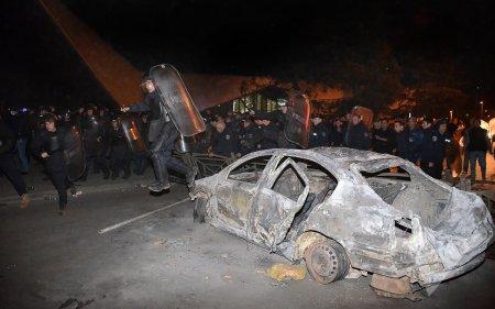 В Грузии штраф за неправильную парковку обернулся массовыми беспорядками
