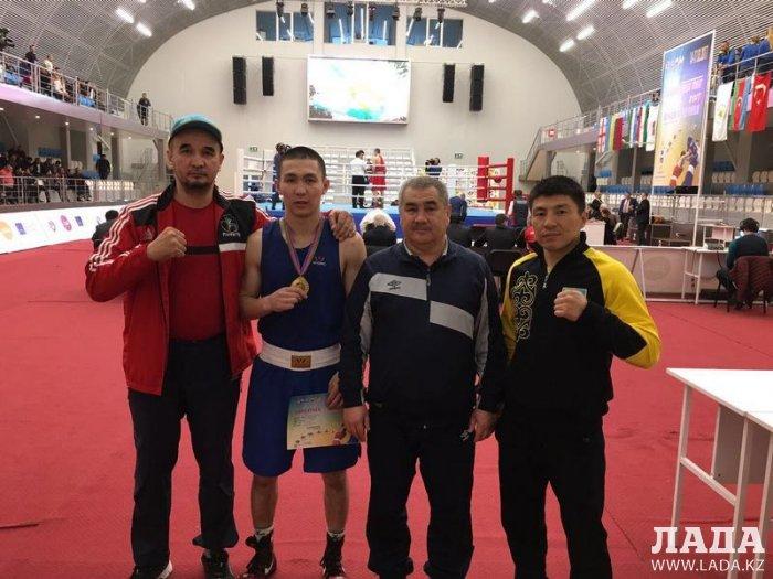 Мангистауские боксеры завоевали две золотые медали на международном турнире в Баку