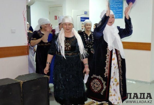 Медицинские работники Мангистау отпраздновали Наурыз