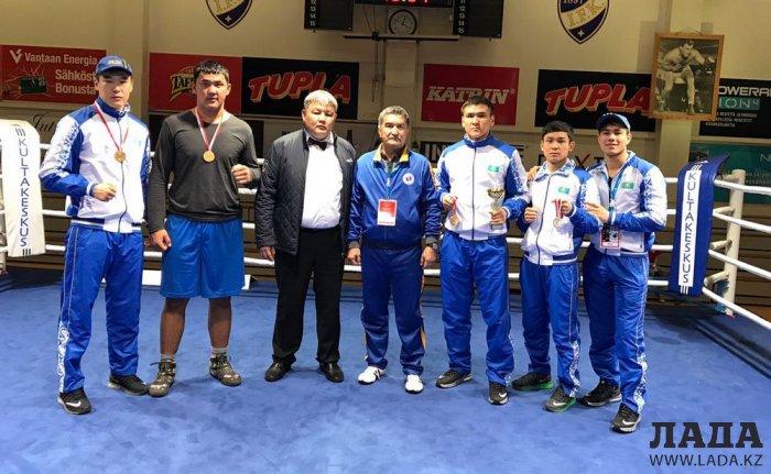 Боксер из Мангистау Бекзад Нурдаулетов завоевал золотую медаль на международном турнире в Финляндии