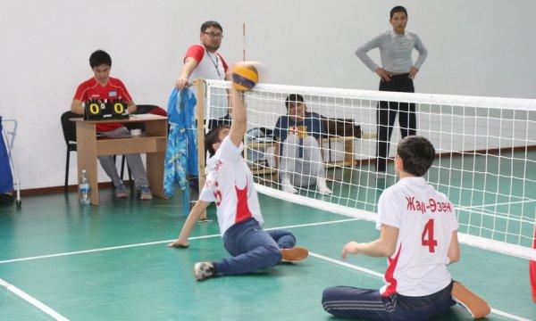 В Актау прошел открытый турнир среди спортсменов с ограниченными возможностями