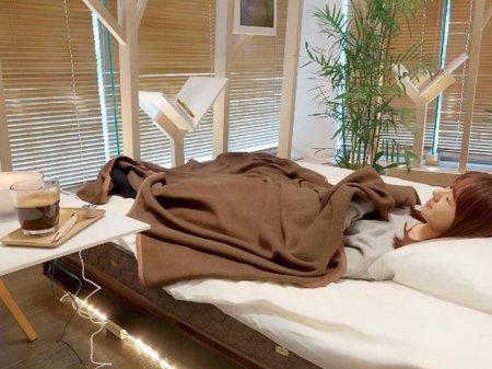 Кафе с кроватями для посетителей открыли в Японии