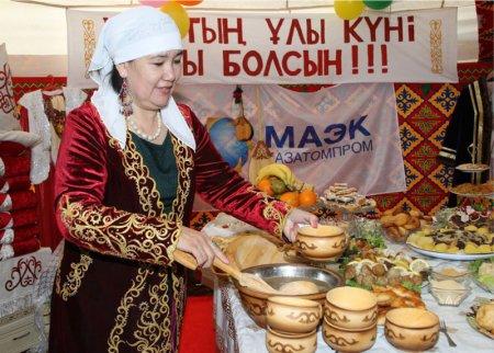Весна на комбинате. Работники ТОО «МАЭК-Казатомпром» первыми встретили Амал.