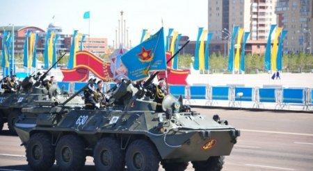 Масштабный парад к 25-летию образования ВС РК пройдет в Астане 7 мая