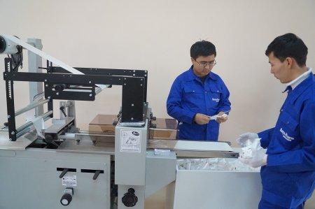В Жанаозене запустили производство перевязочных материалов